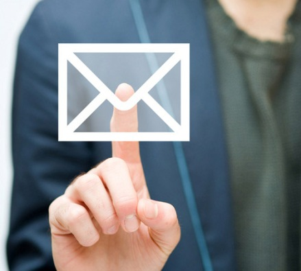 touch screen mail